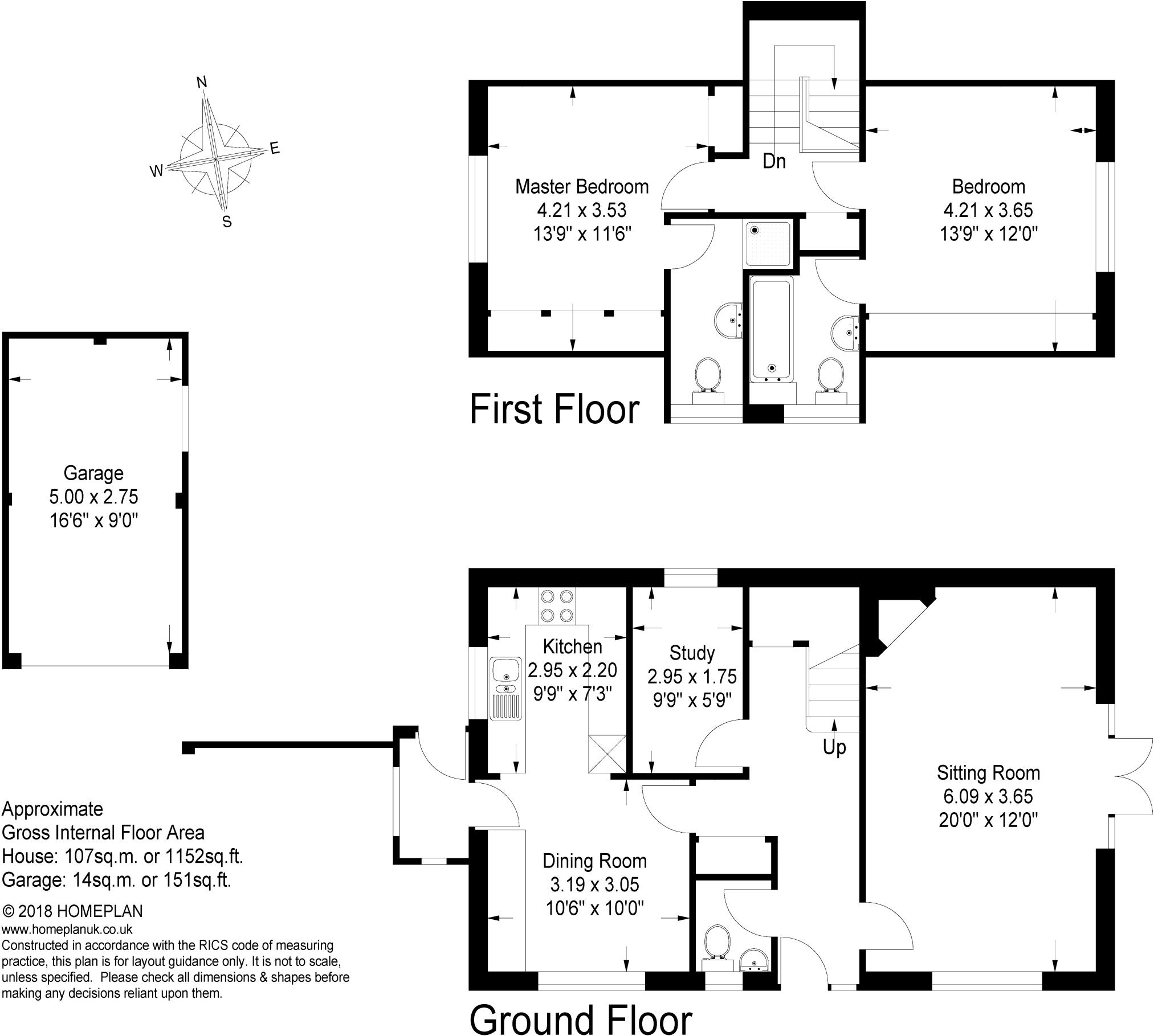 2 bedroom detached house for sale in Hammer Vale Haslemere GU27