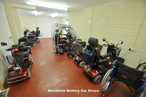 Battery scooter store