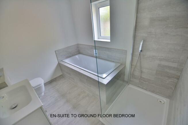 En-suite to ground floor bedroom