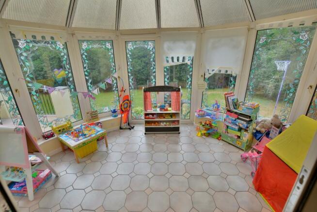 Conservatory/playroom