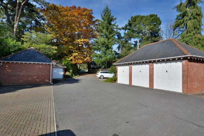 Driveway and garaging