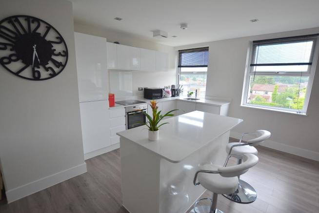 Kitchen/lounge/dining room