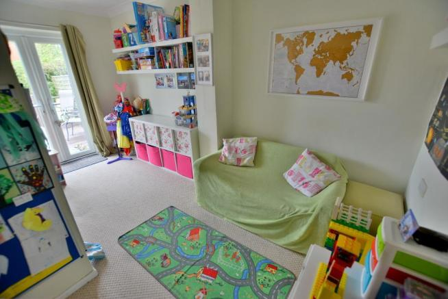 Ground floor bedroom/playroom