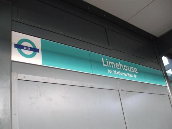 LIMEHOUSE STATION DLR