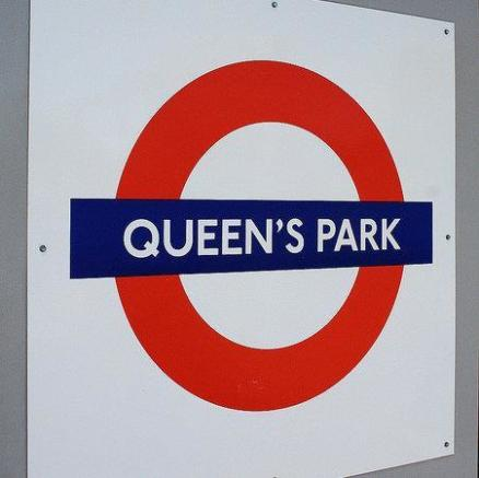 QUEEN'S PARK TUBE STATION
