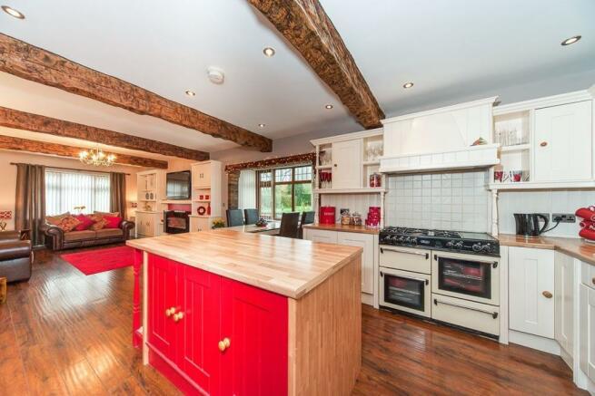 Kitchen / Sitting / Dining Room