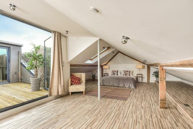 Bedroom leading to Patio