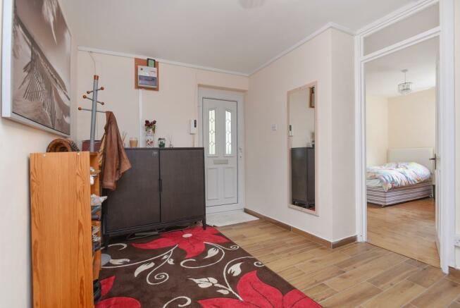 Hallway & Bedroom