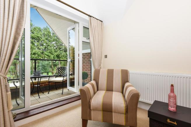 Reception Room/Balcony View