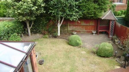 Arial View Garden