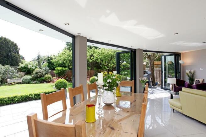 Dining Area onto Rear Garden