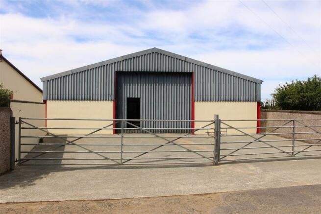 Agricultural workshop / stores
