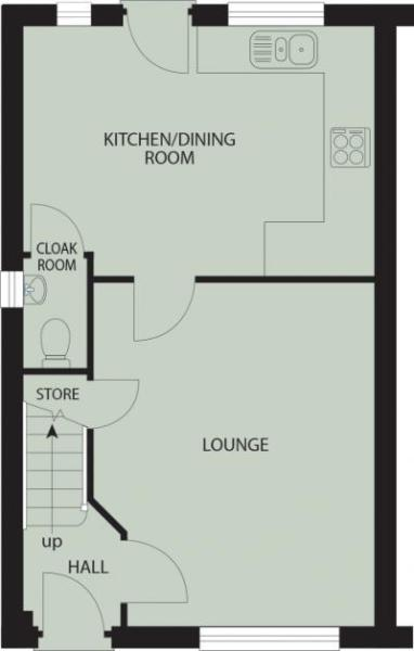 Floor Plan Lower