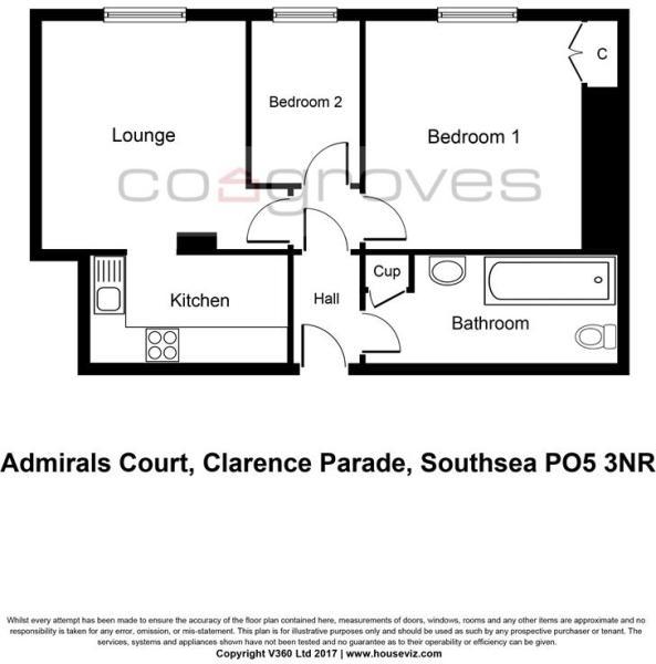AdmiralsCourt,ClarenceParade,SouthseaPO53NR1499118