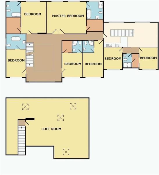 First Floor & Loft Room