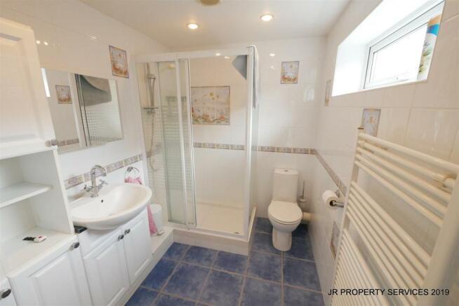 Spacious Shower Room:-