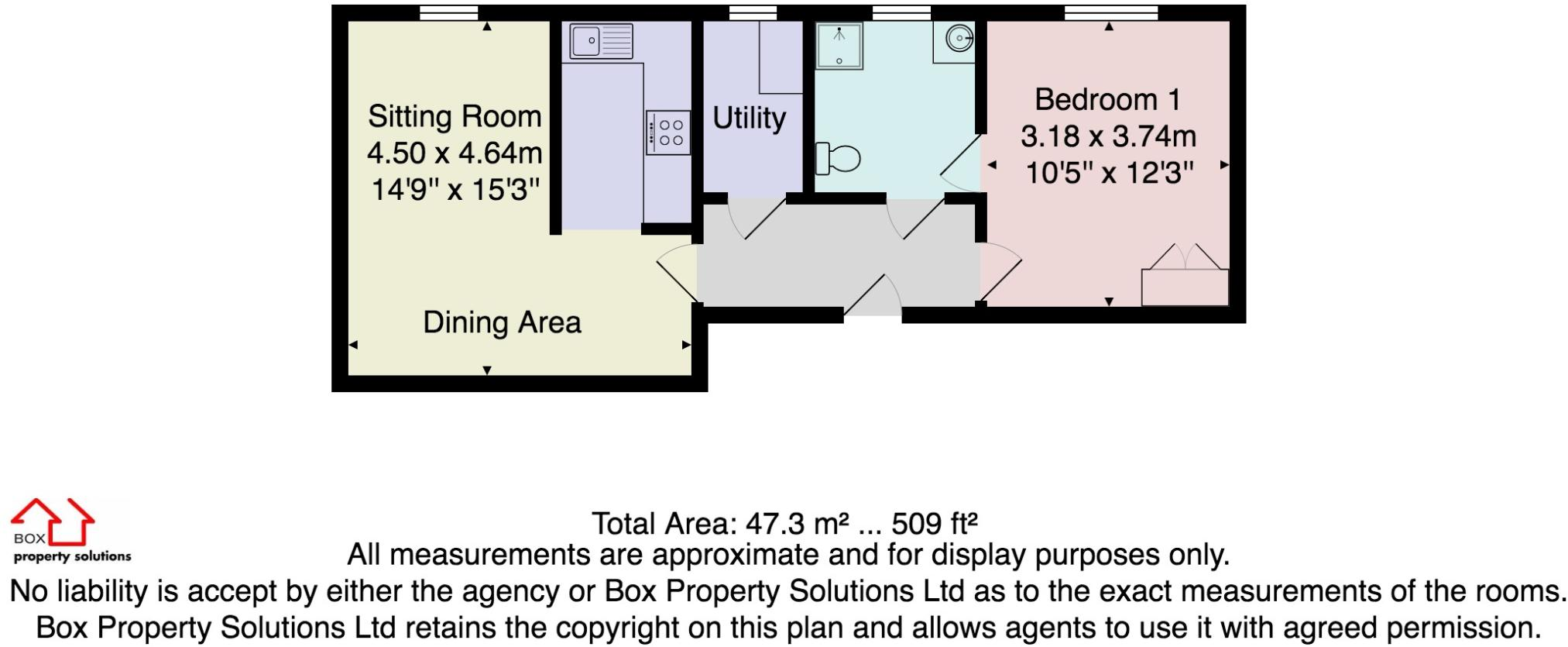 1 bedroom apartment for sale in Martin Grange, Otley Road, Harrogate, HG2