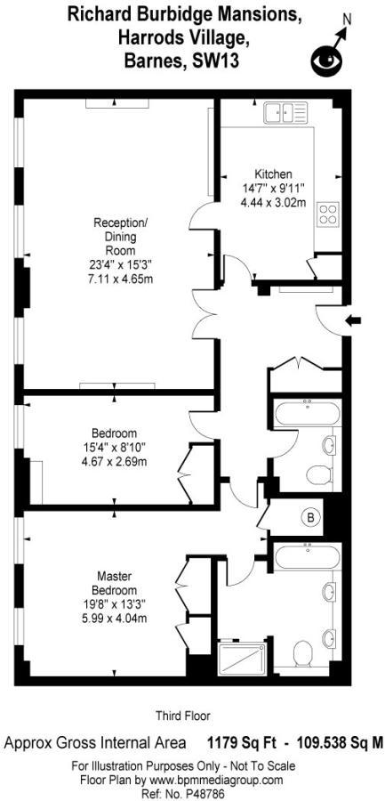 Harrods Floor Plan | 2 Bedroom Flat For Sale In Brasenose Drive Harrods Village Barnes