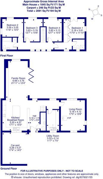 c68d7157a 4 bedroom detached house for sale in Beckford