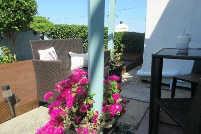 rear patio/dec...