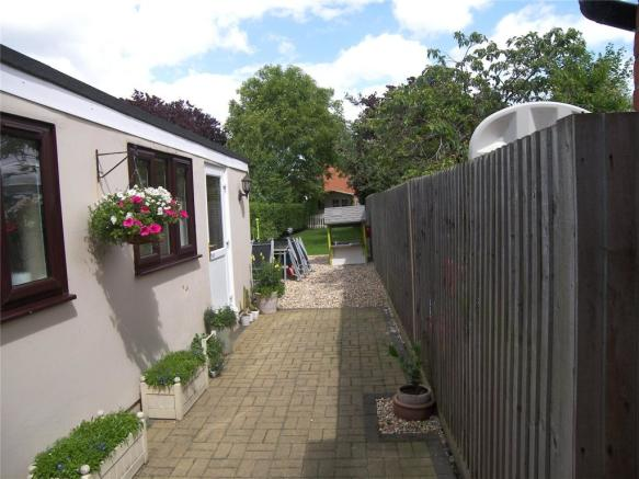 Rear Garden & Office
