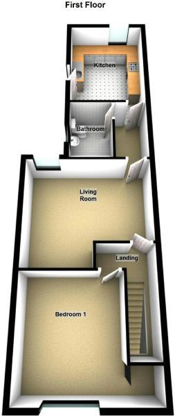 Floor Plan - 50a First Floor