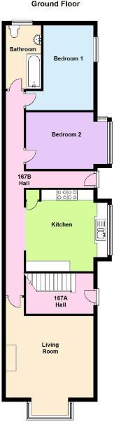 Floor Plan - Ground Floor 167b
