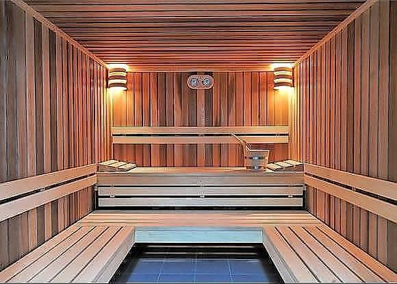 Sauna and Steam room