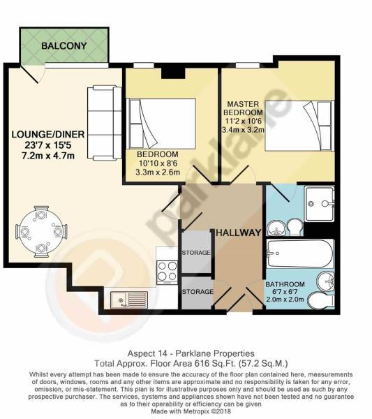 Flat 141 Aspect 14 -Floor Plan.JPG
