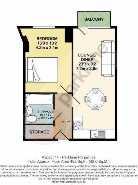 Flat 154 Aspect 14 -Floor Plan.JPG