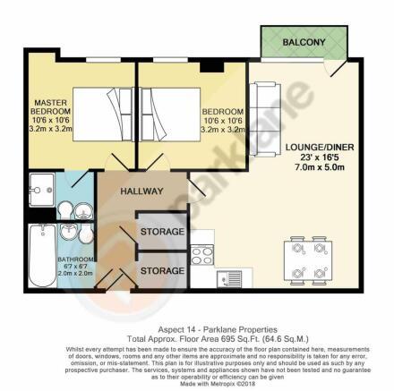 Flat 214 Aspect 14 - Floor Plan.JPG