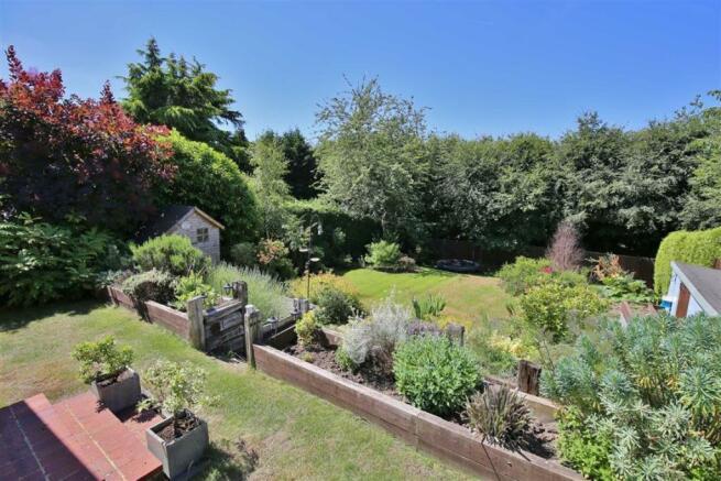 Westerly Facing Rear Garden