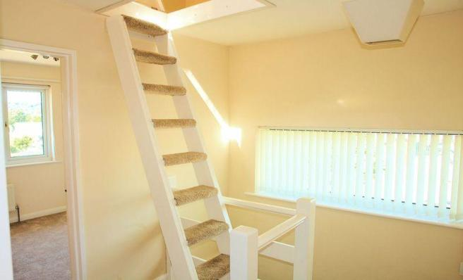 Loft stairs to...