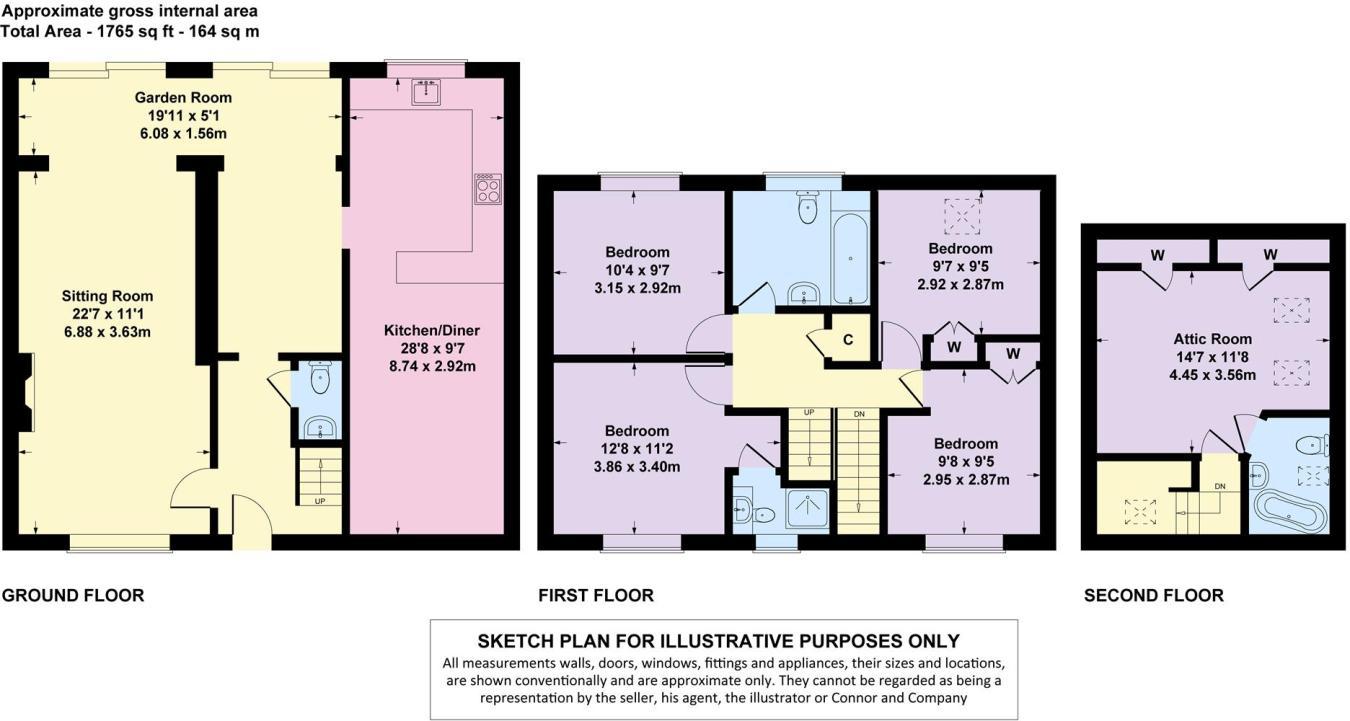 5 bedroom link detached house for sale in Rissington Road, Bourton