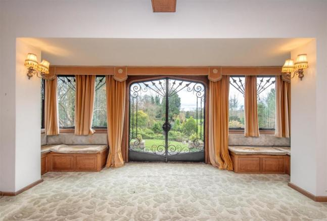 Drawing Room View to garden
