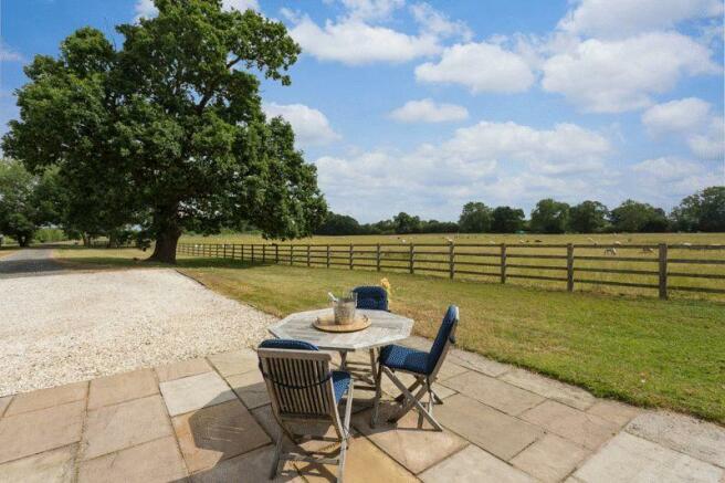 Garden terrace...