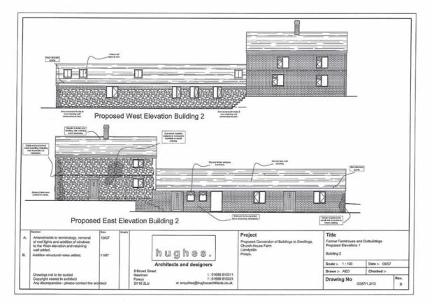 Planning West Elevation