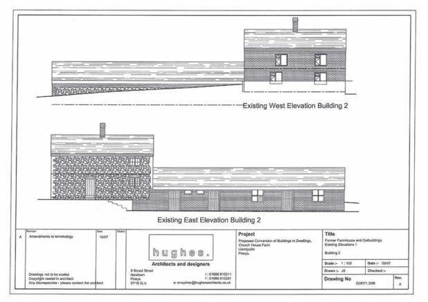 Planning East Elevation