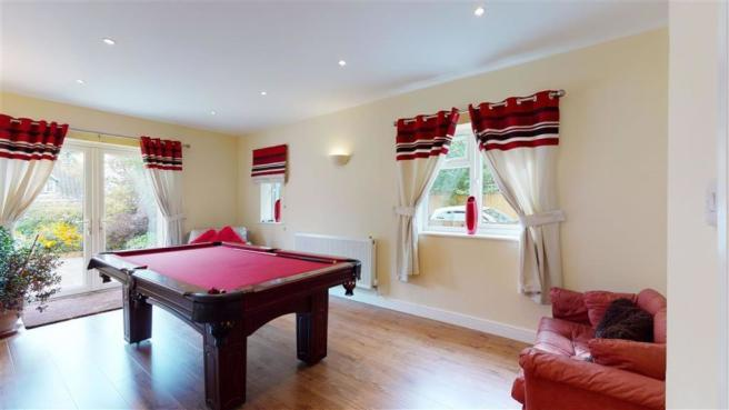 Snooker/ Play Room