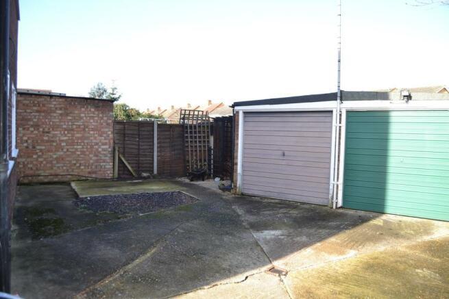 Garage to left