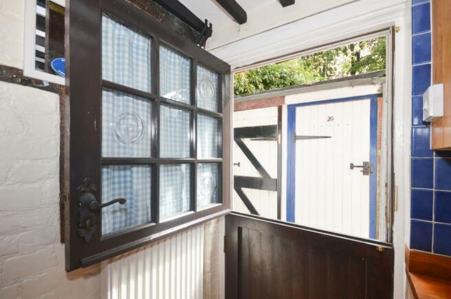 Kitchen stable door
