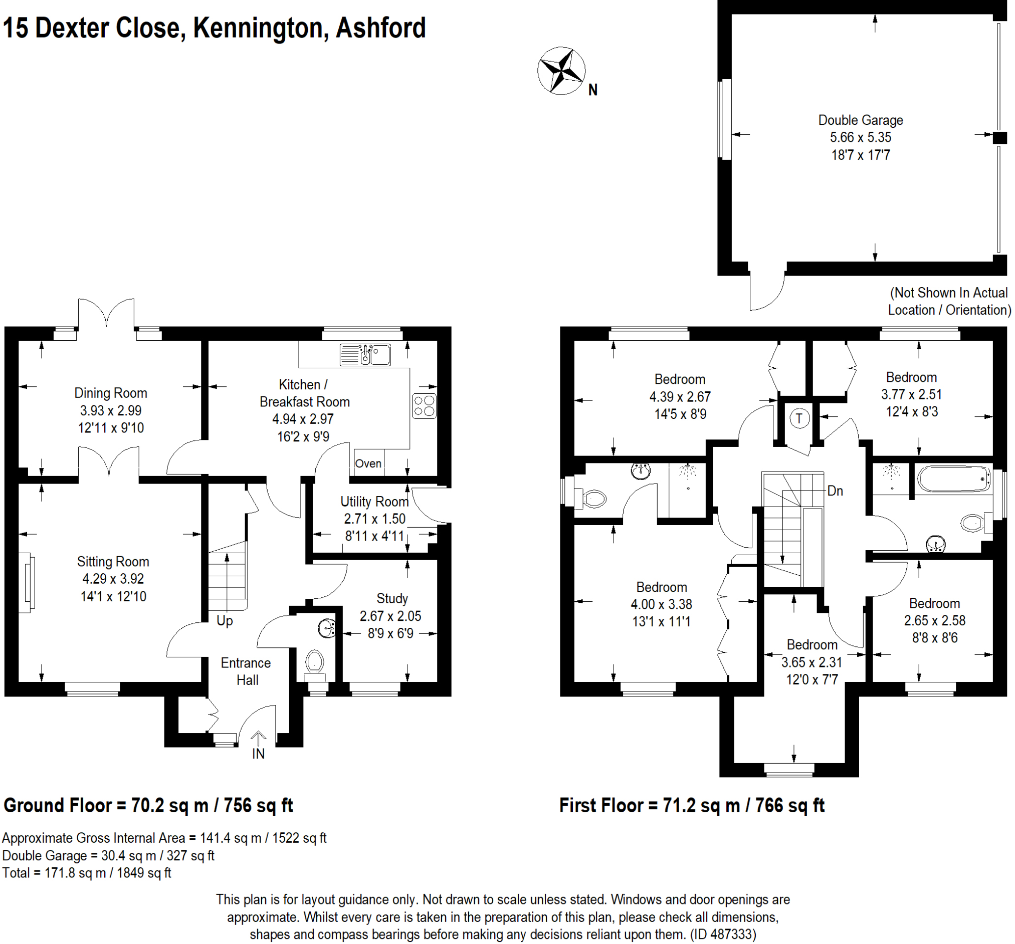5 Bedroom Detached House For Sale In Kennington Tn25 Diagram 1 Black Is Check 2 Double