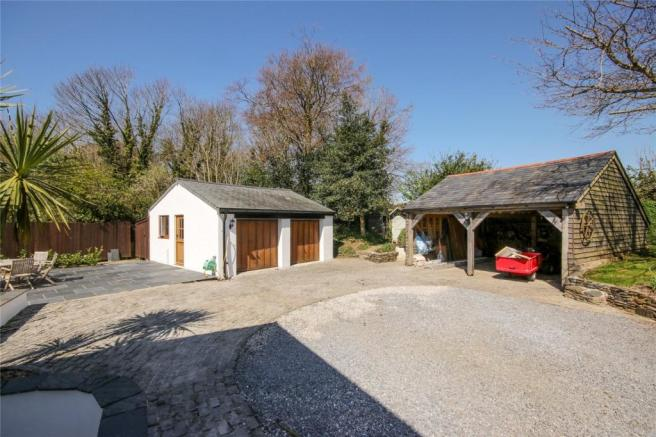 Garage and Barn