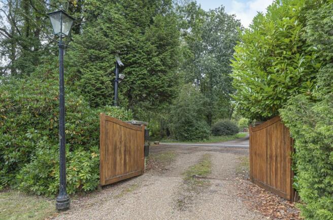 Enterance gates