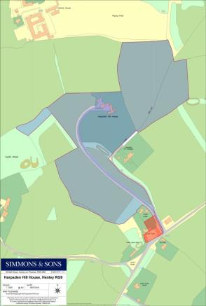 Site Plan HHH Lot 1