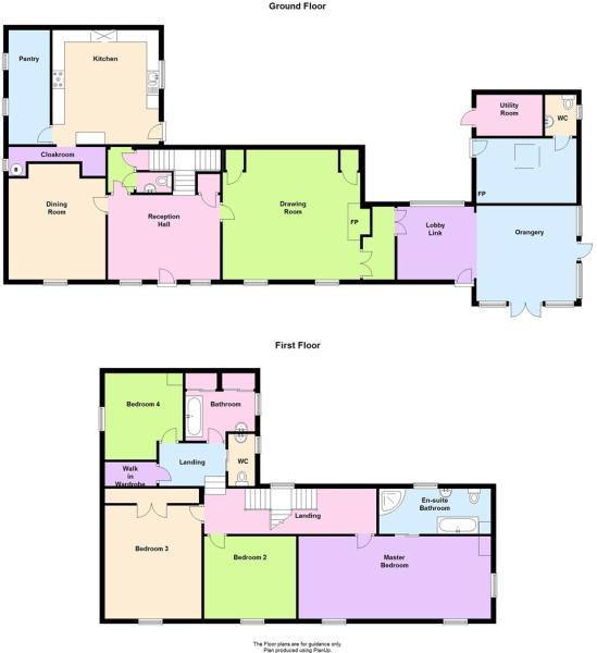 Crugiau House, Rhydyfelin - New floor plan.JPG