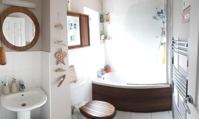 Bathroom, with showe
