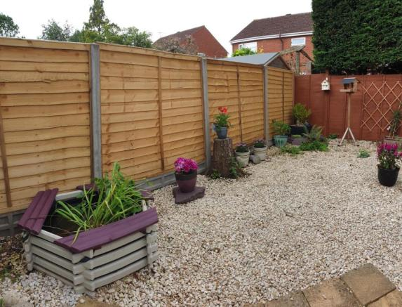 Rear garden, brand n