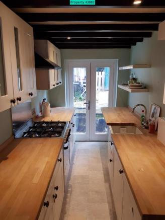 Kitchen with access