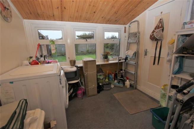 Lean-To Utility Room